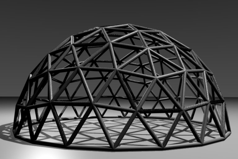 Geodesic Dome Shapeways 3d Printing Forums